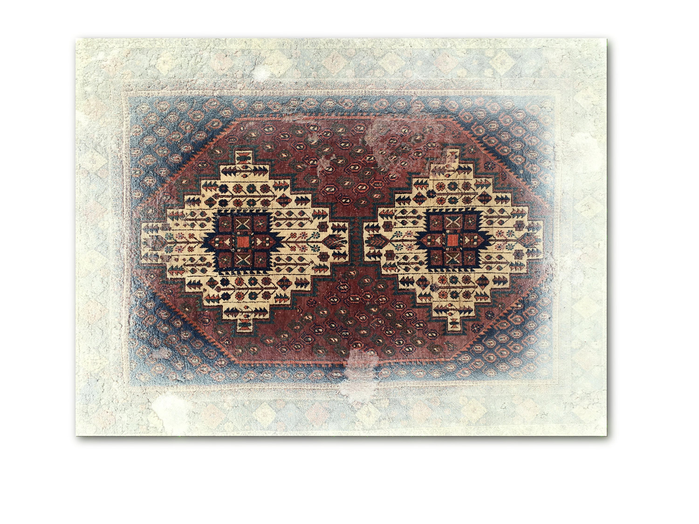 web222-noemi-kiss-white-framed-oblivion-tapestry-overpainted-persian-rug-156x131cm-MarionFriedmannGallery.jpg