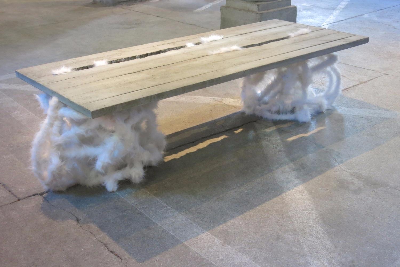 NOÉMI KISS - PLUSH CRACK TABLE