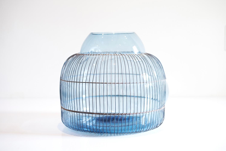 GALA FERNÁNDEZ - BLUE GLASS VESSEL