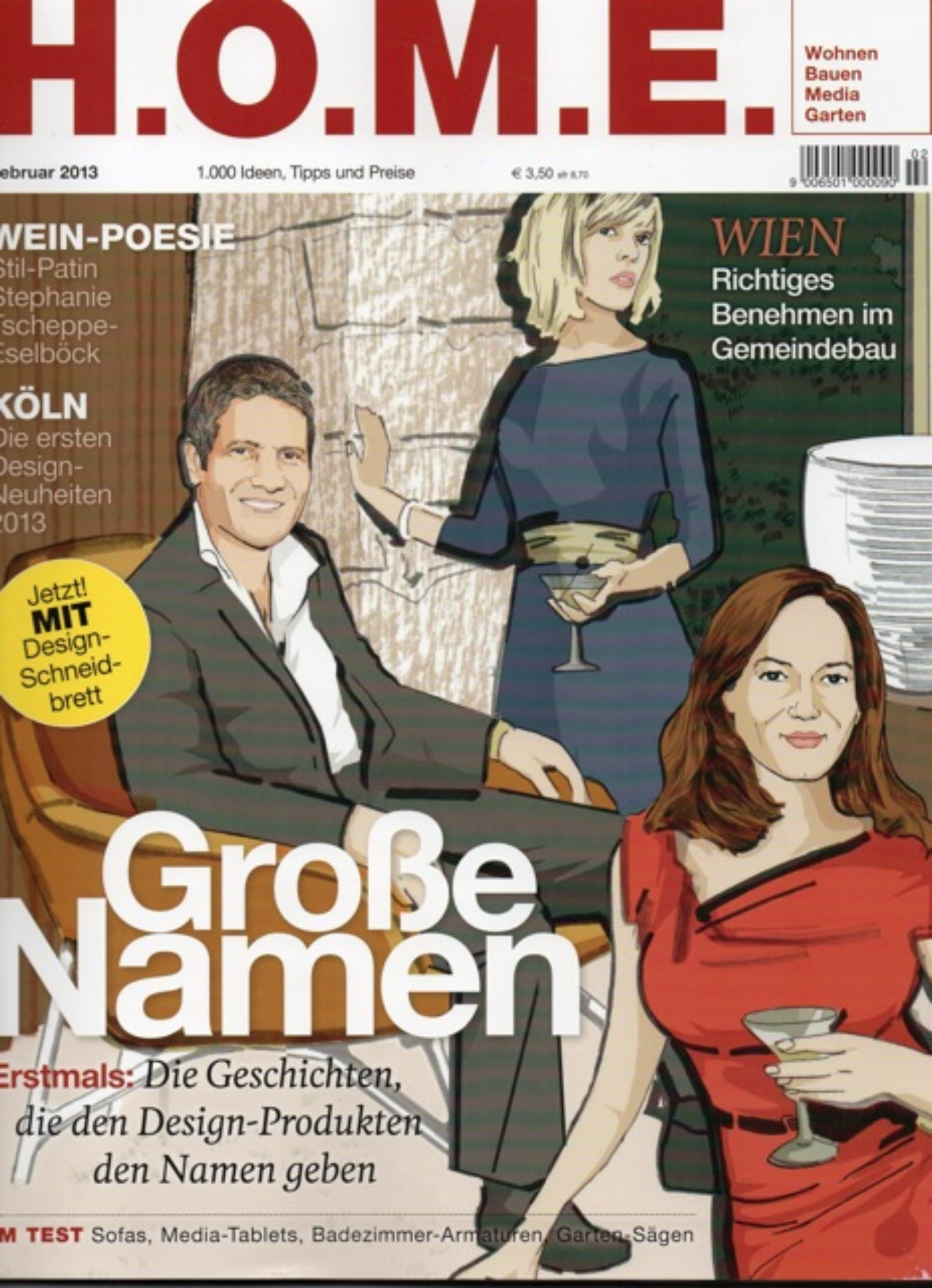 H.O.M.E. mag, Feb 2013
