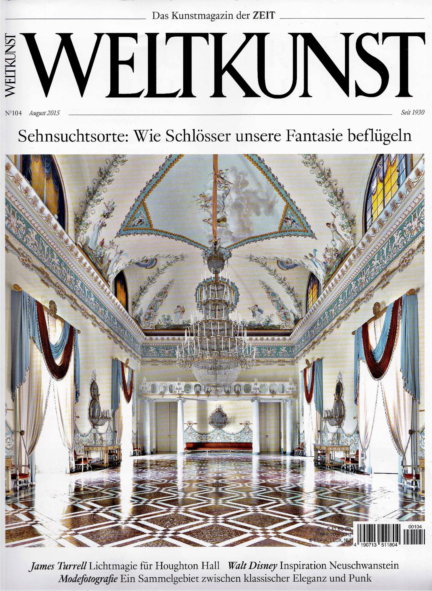 WELTKUNST, Die Zeit, Aug 2015