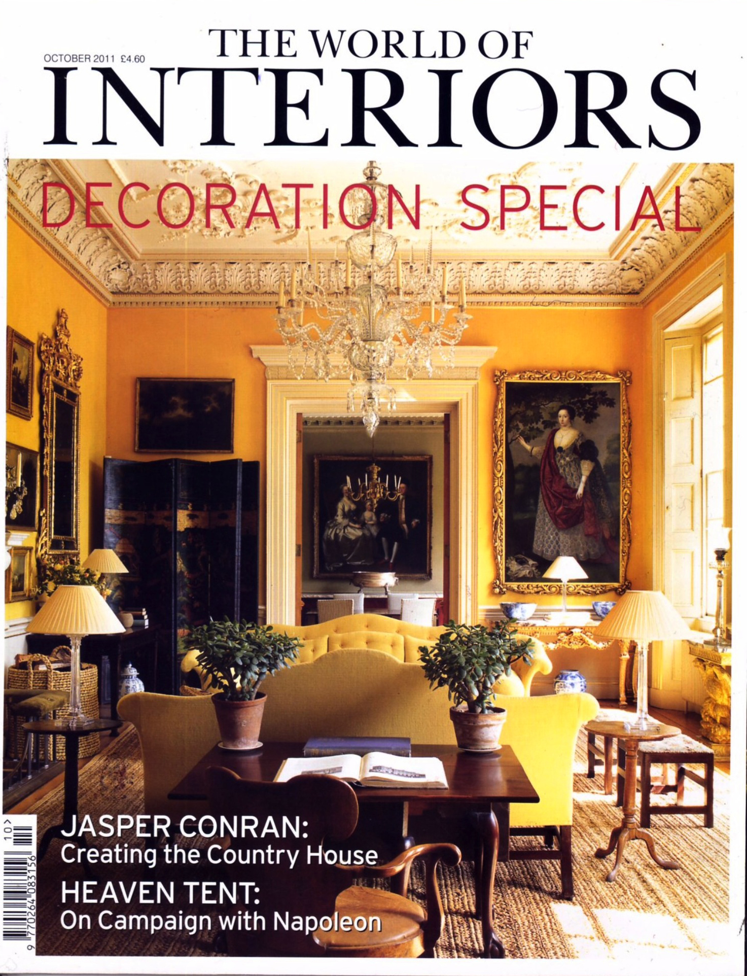 WORLD OF INTERIORS, Oct 2011