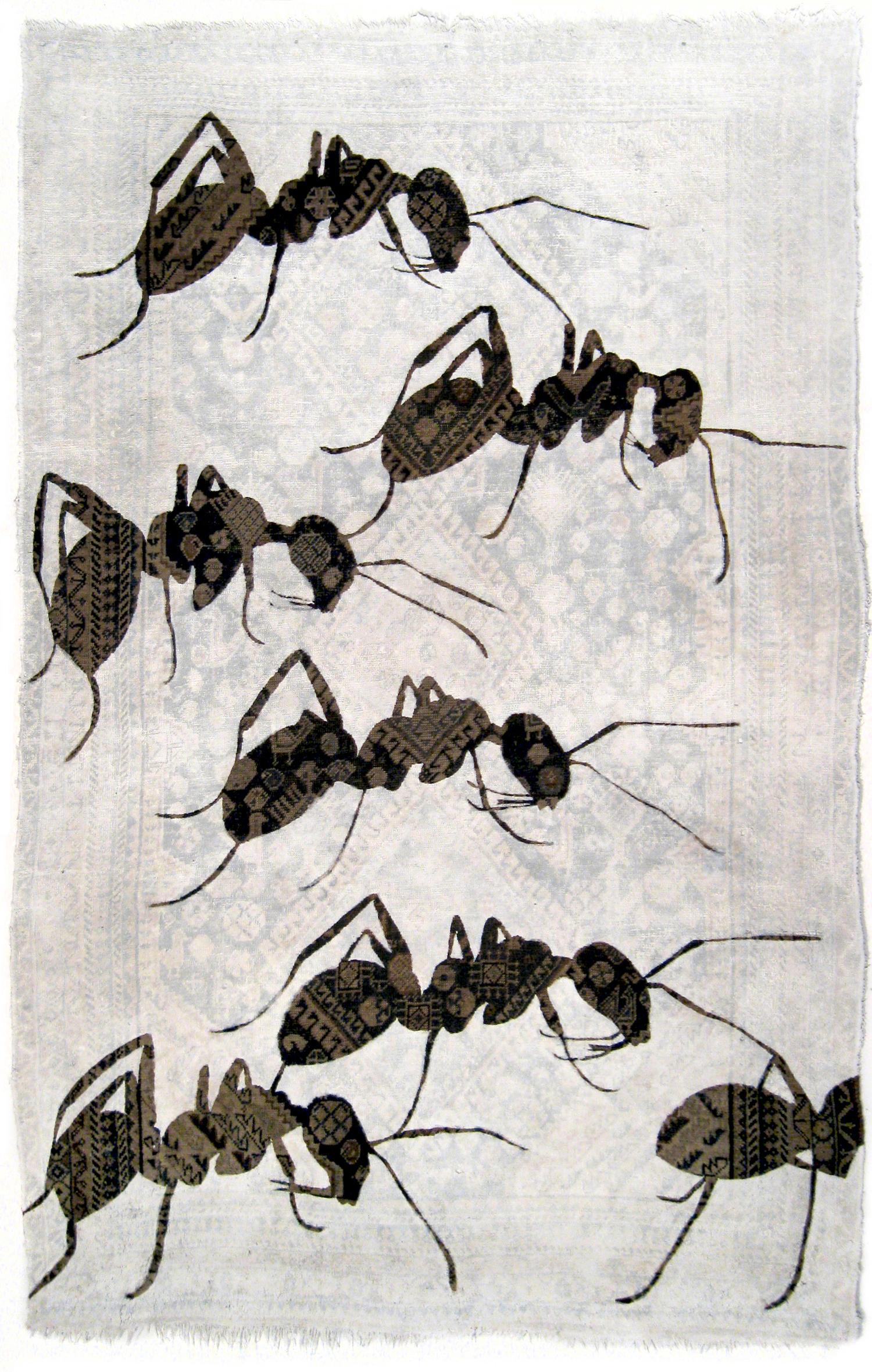 web222-noemi_kiss_ants_tapestry-overpainted-oriental-rug-marion-friedmann-gallery.jpg