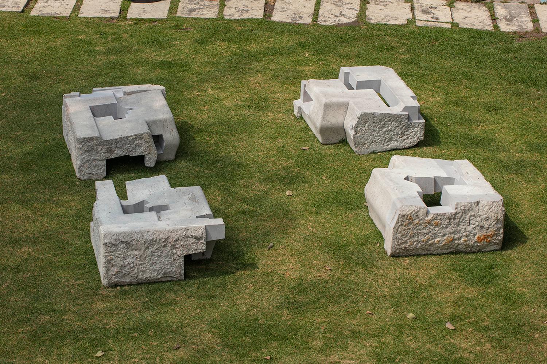 JORGE YÁZPIK - S/T marble seats series
