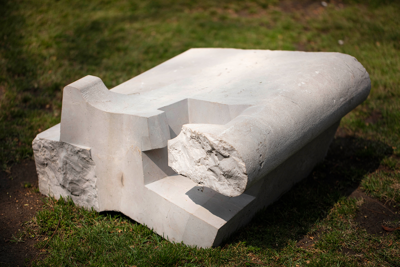JORGE YÁZPIK - S/T marble seat 2