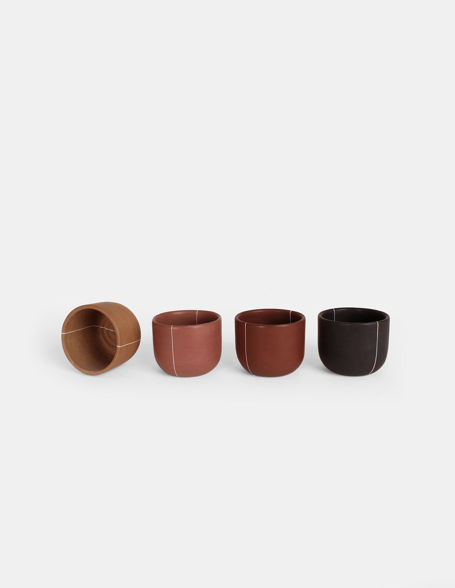 cacao cups, mexican crafted design
