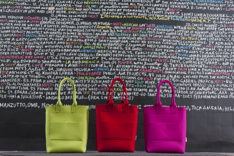 TOTE bags - part of colour range