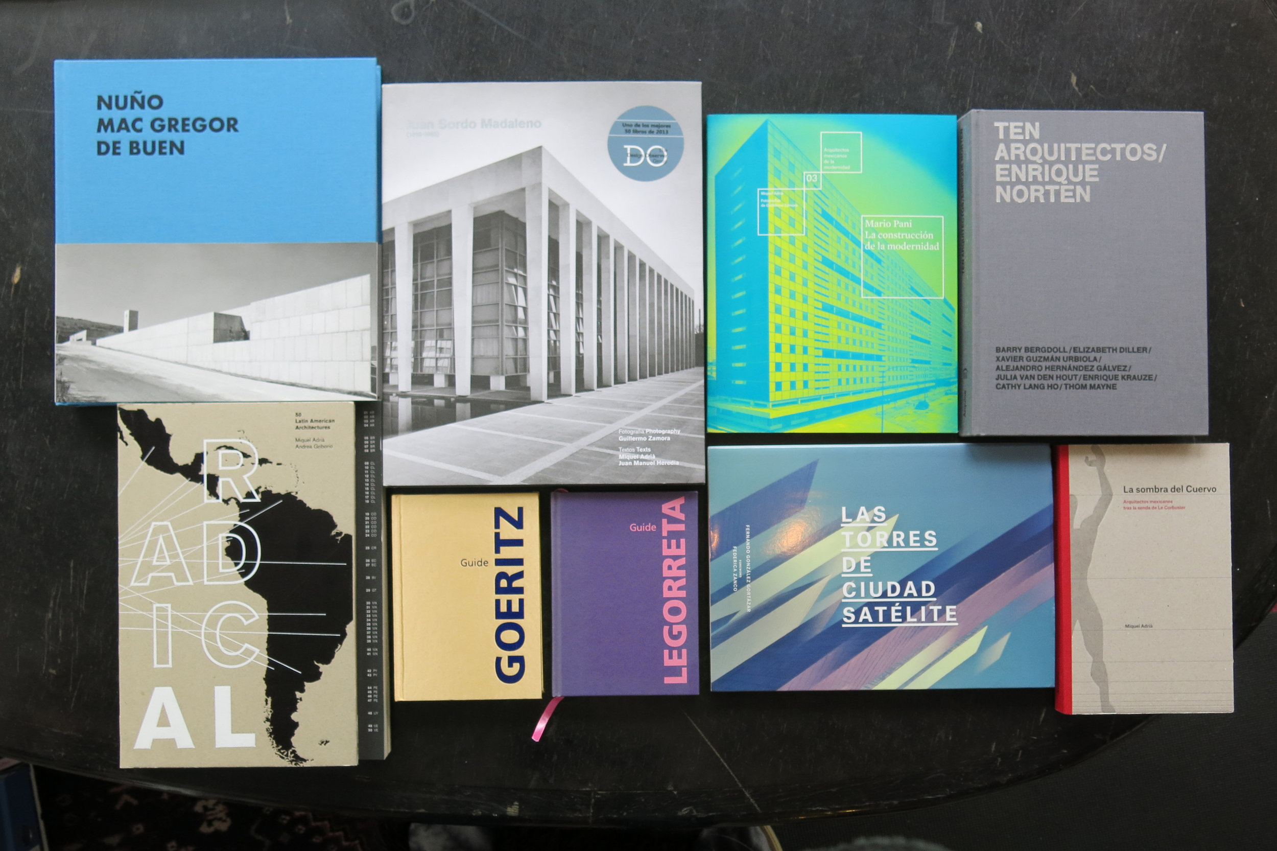Selection of Architecture publications by Arquine