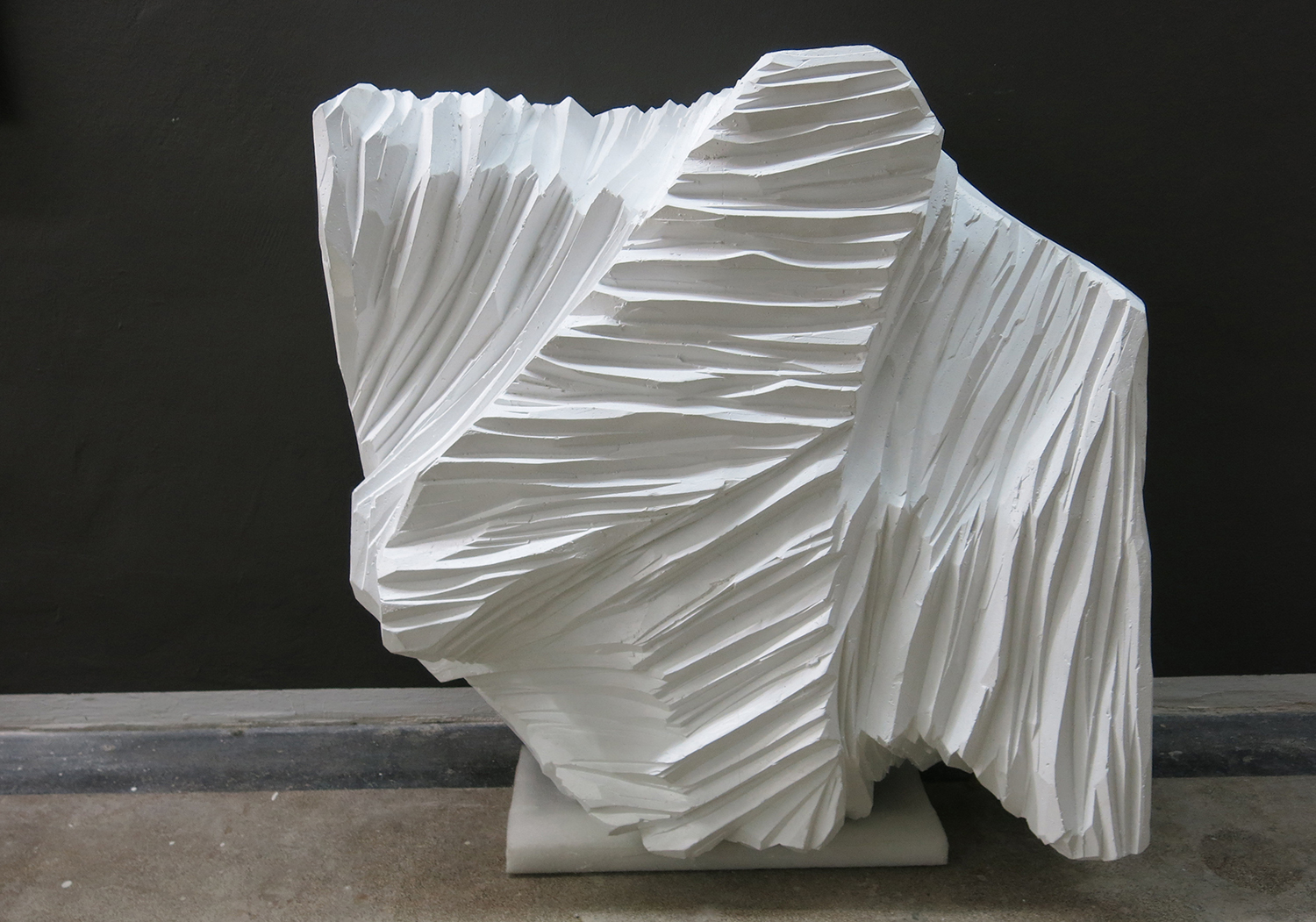 August 2019 - Untitled - White Sculpture