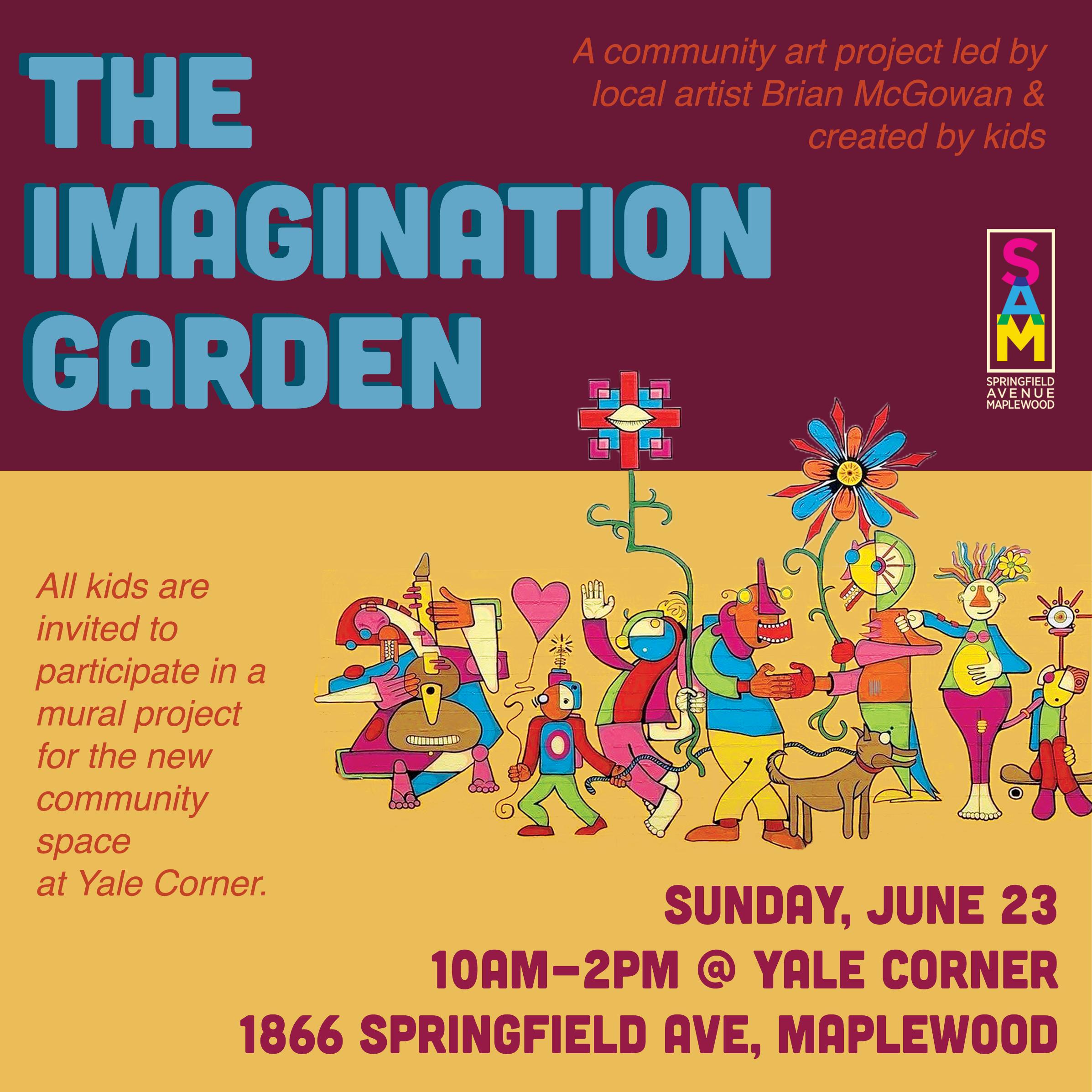 The Imagination Garden — Springfield Avenue Maplewood