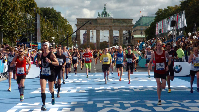 The Berlin Marathon -