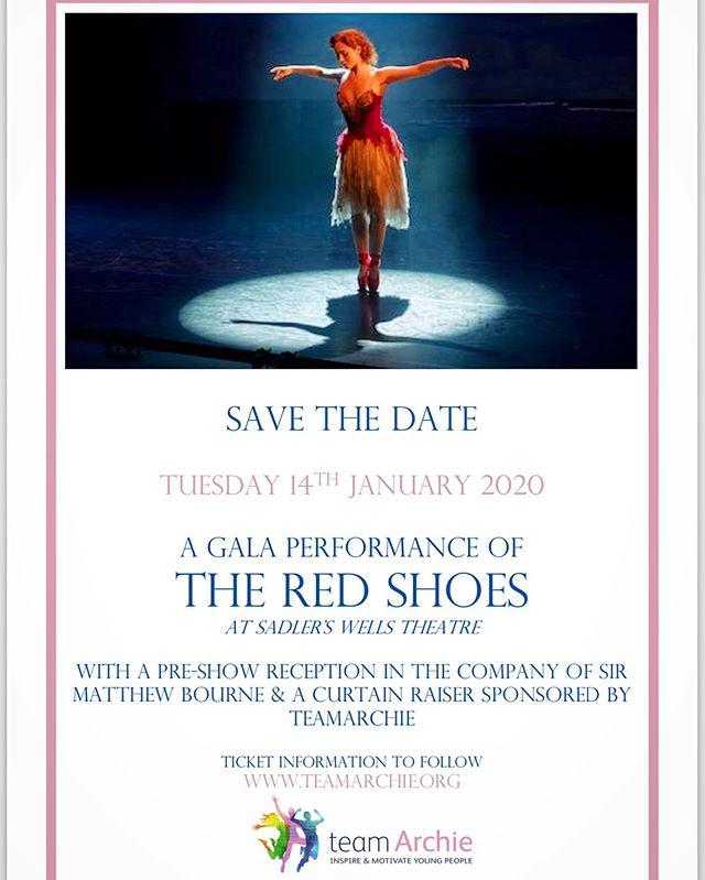 Exciting! Message us for ticket information. #danceforarchie #christmascracker #supportingyoungtalent #showbuild #redshoes #saddlerswells #ballet #contemporarydance