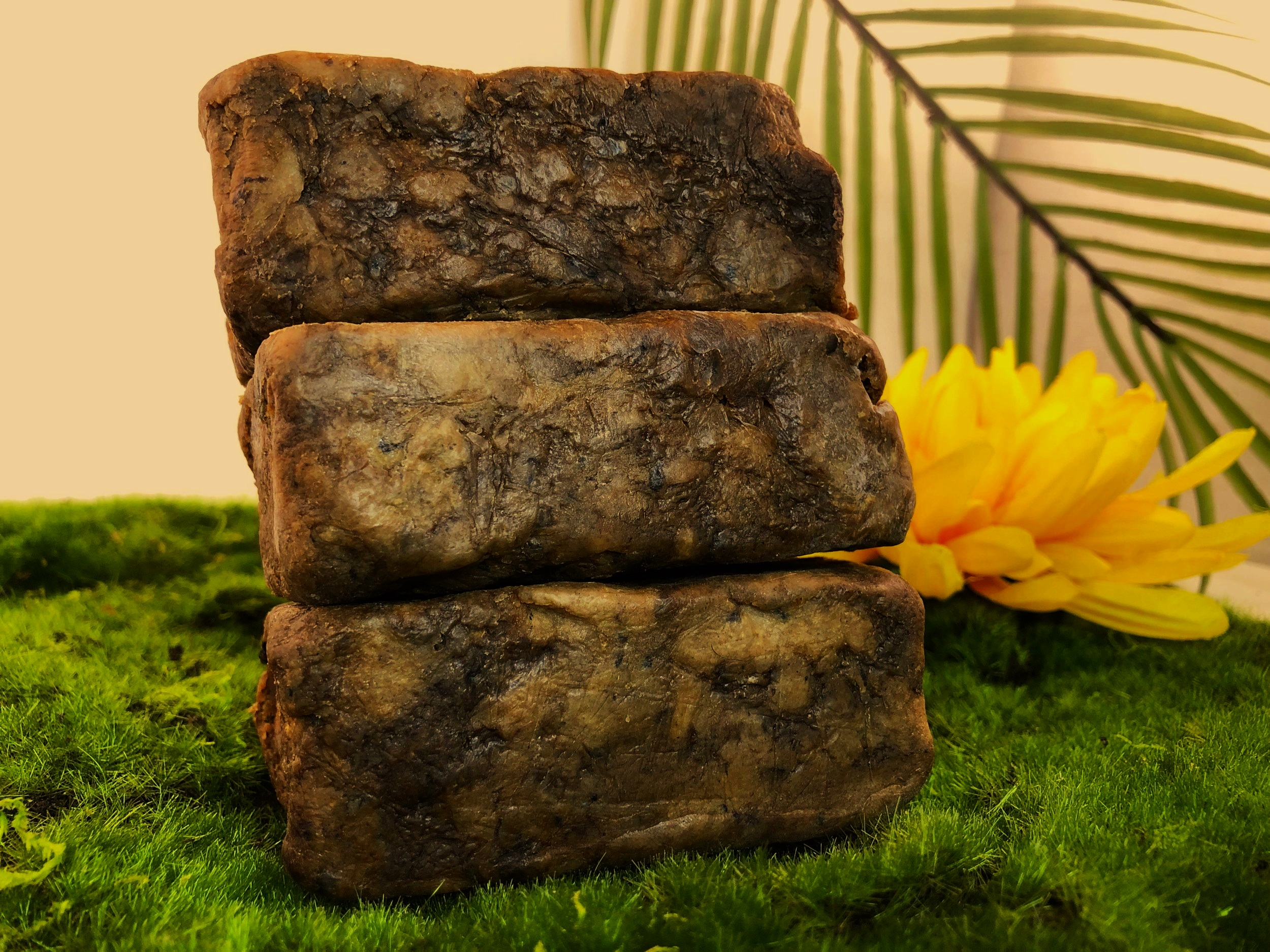 100% Pure African Black Soap