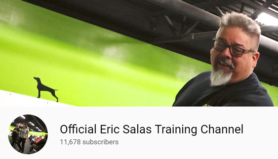 THE OFFICIAL ERIC SALAS TRAINING CHANNEL with all-breed training workshop videos