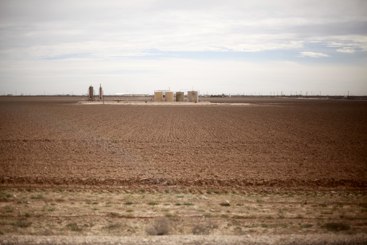 Industrial paradise - 160 acres in the Heart of Oil Country. Cleared, easy-to-find location.