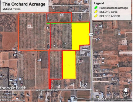 So many resources! - Located just outside the city limits of Midland, there are so many possibilities on these tracts! Don't miss this listing!
