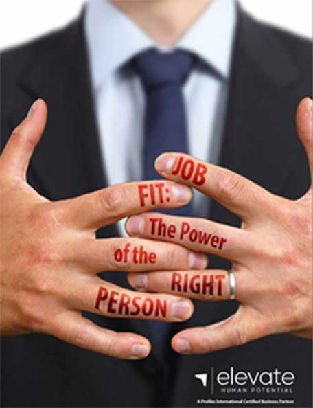 What is job fit? - It's the degree of congruence between an individual's strengths, needs, and wants in a particular work environment. Establishing job fit will help you to place individuals in positions they are most likely to be succesful in. Assesing for job fit reveals if a person CAN do a job, HOW they will do the job, and if they will ENJOY the job.