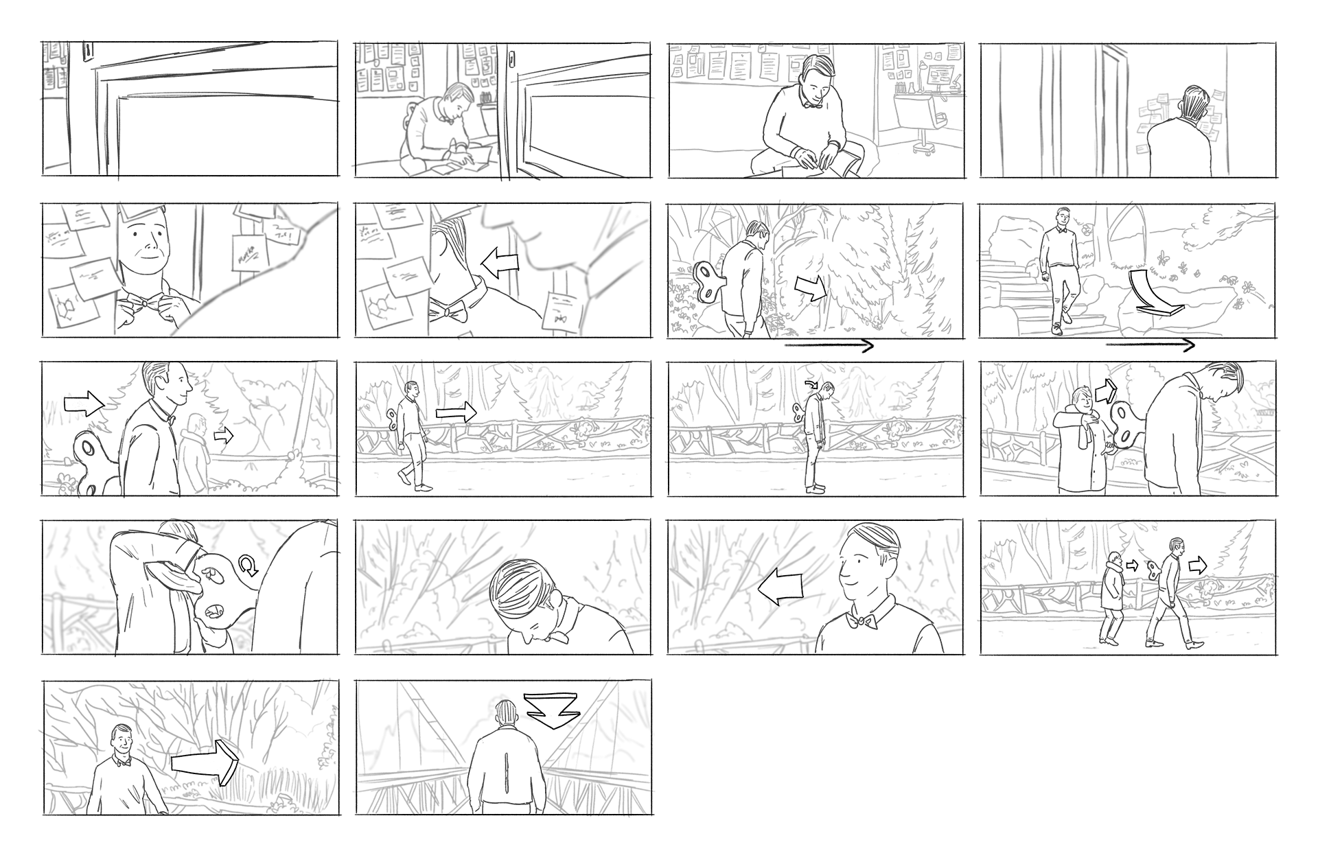 storyboard FRM