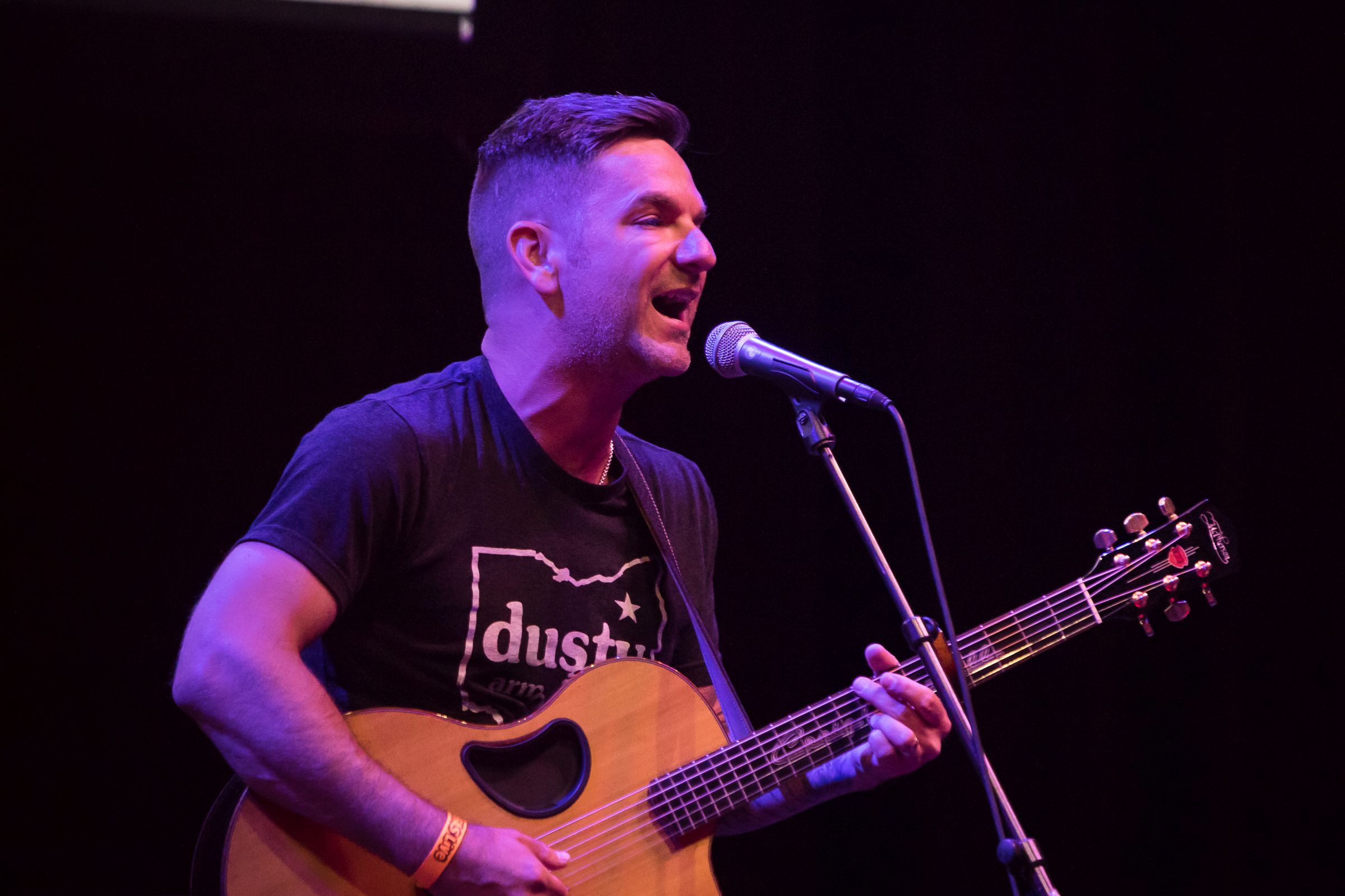 Craig Campbell performs at Introducing Nashville during C2C Amsterdam on Monday, March 4, 2019.