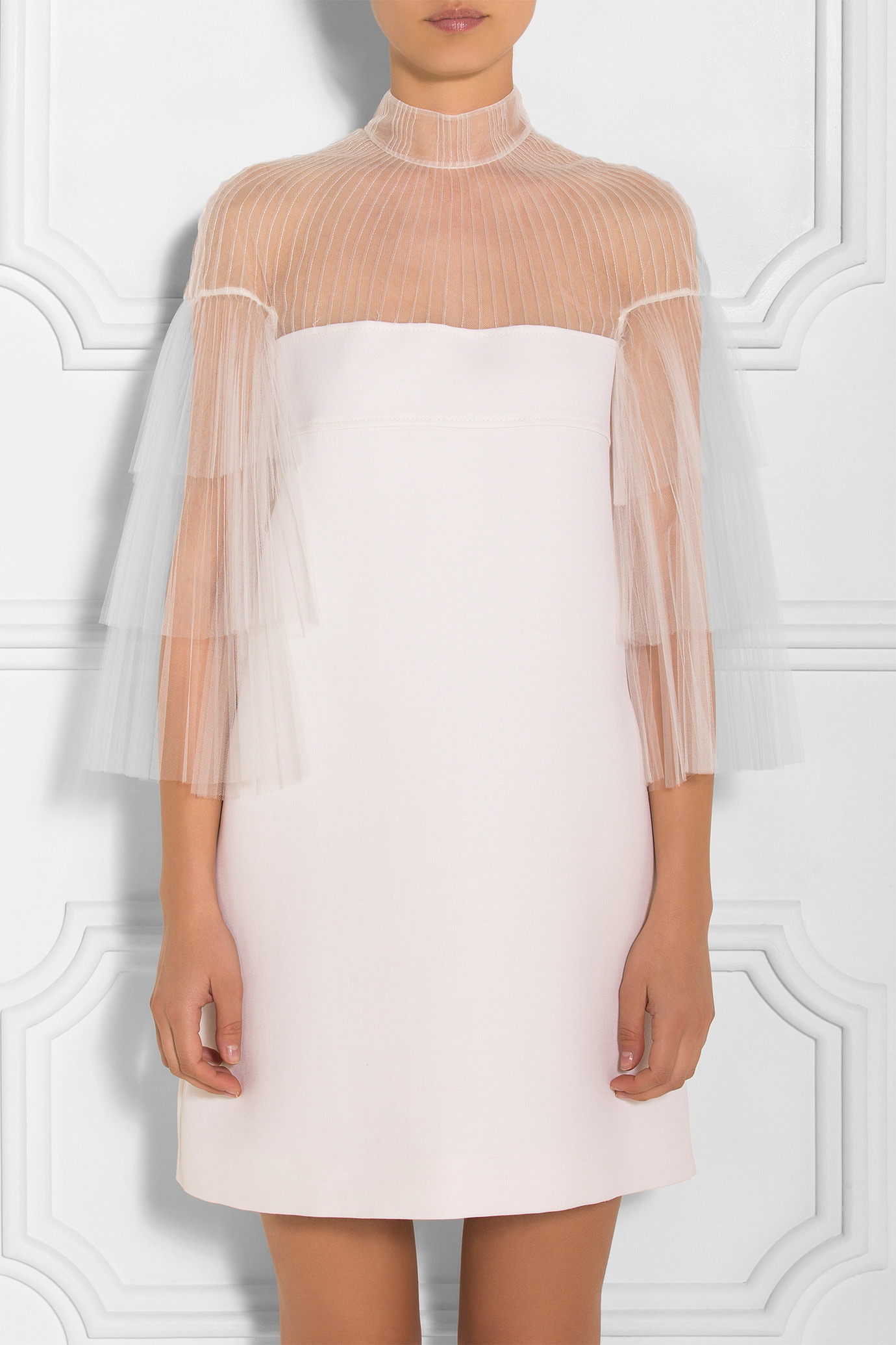 For the true fashion bride, this tulle Valentino mini dress channels the likes of Rihanna and Olivia Palermo. -
