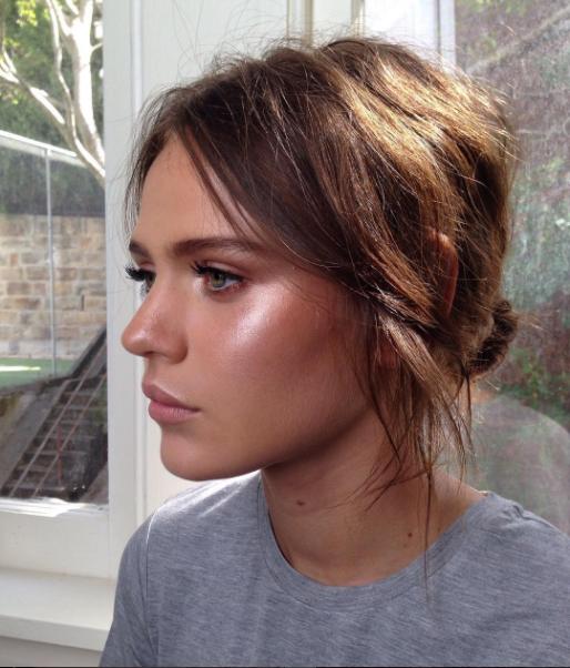 Makeup  by  Ania Milczarczyk .