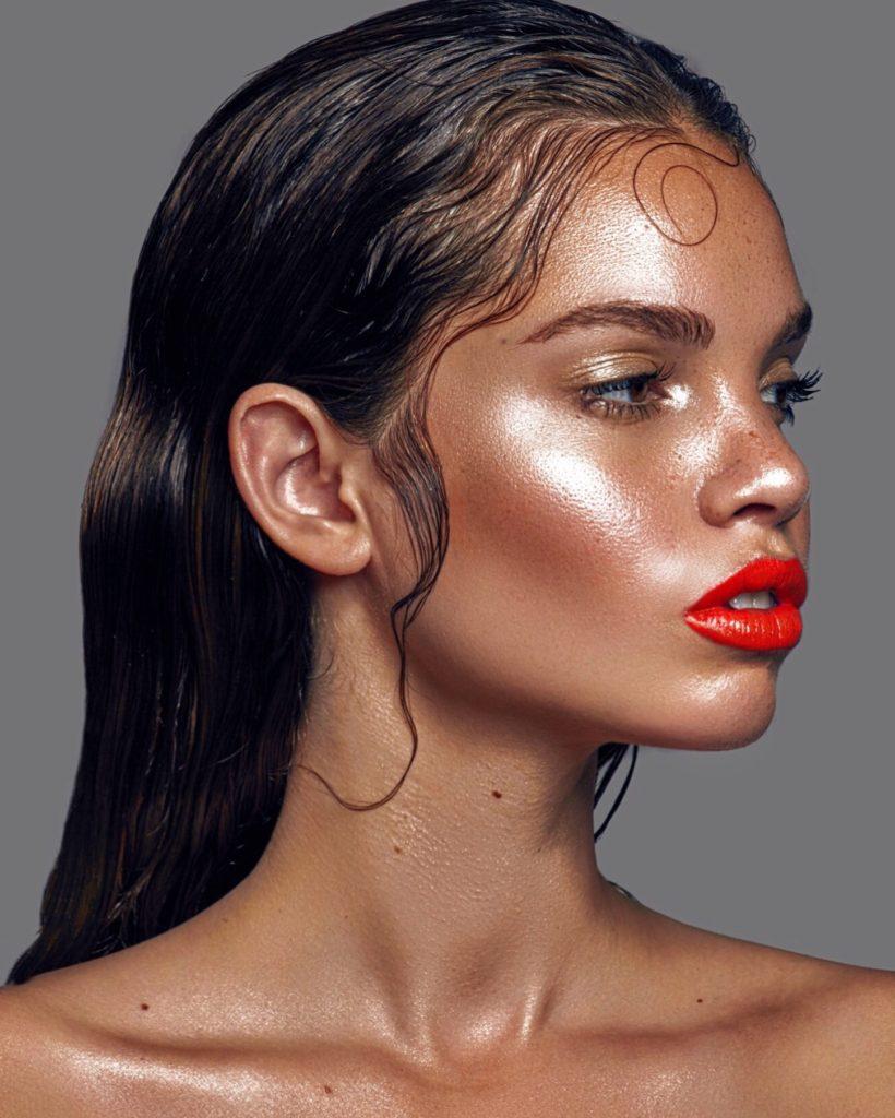 Makeup  by  Hayley Kassel