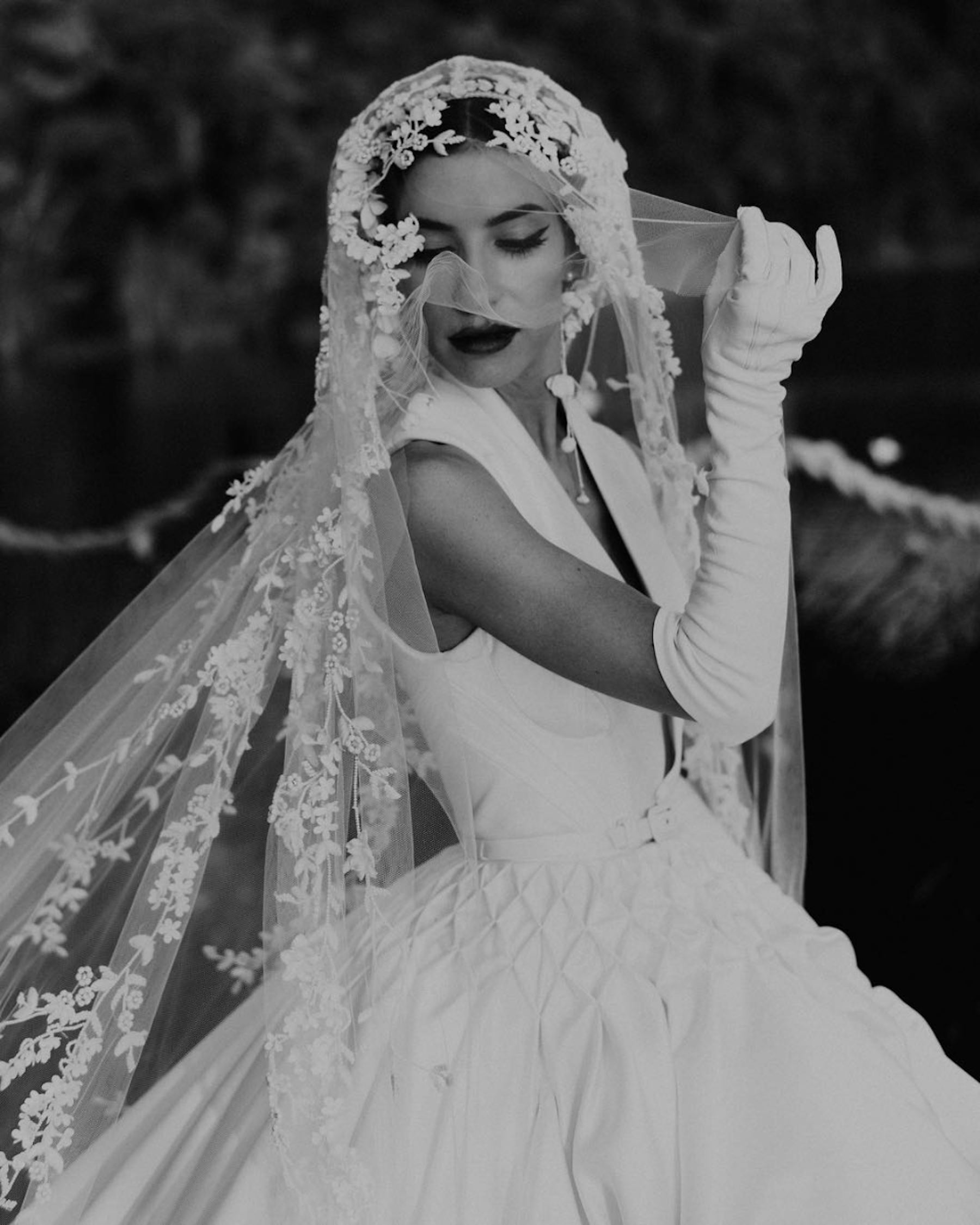 Talk about a moment! Lisa Veronica gave haute couture realness in Jaton Couture. - Photo by Joseph Willis Photography.