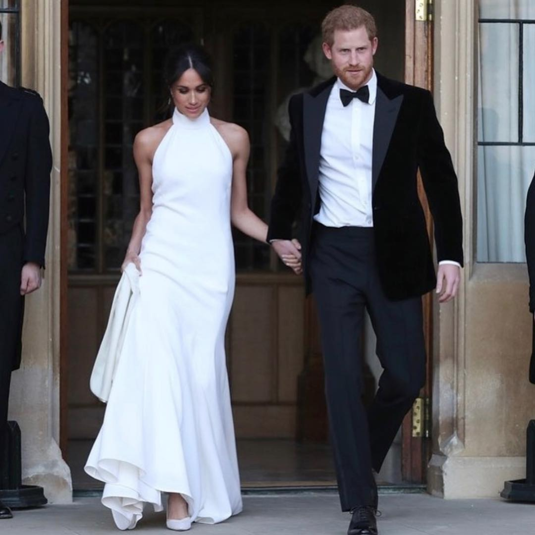 Who could forget the chic Stella McCartney gown HRH wore to the royal wedding reception? - This wouldn't be a 2018 bridal round-up without Meghan Markle.