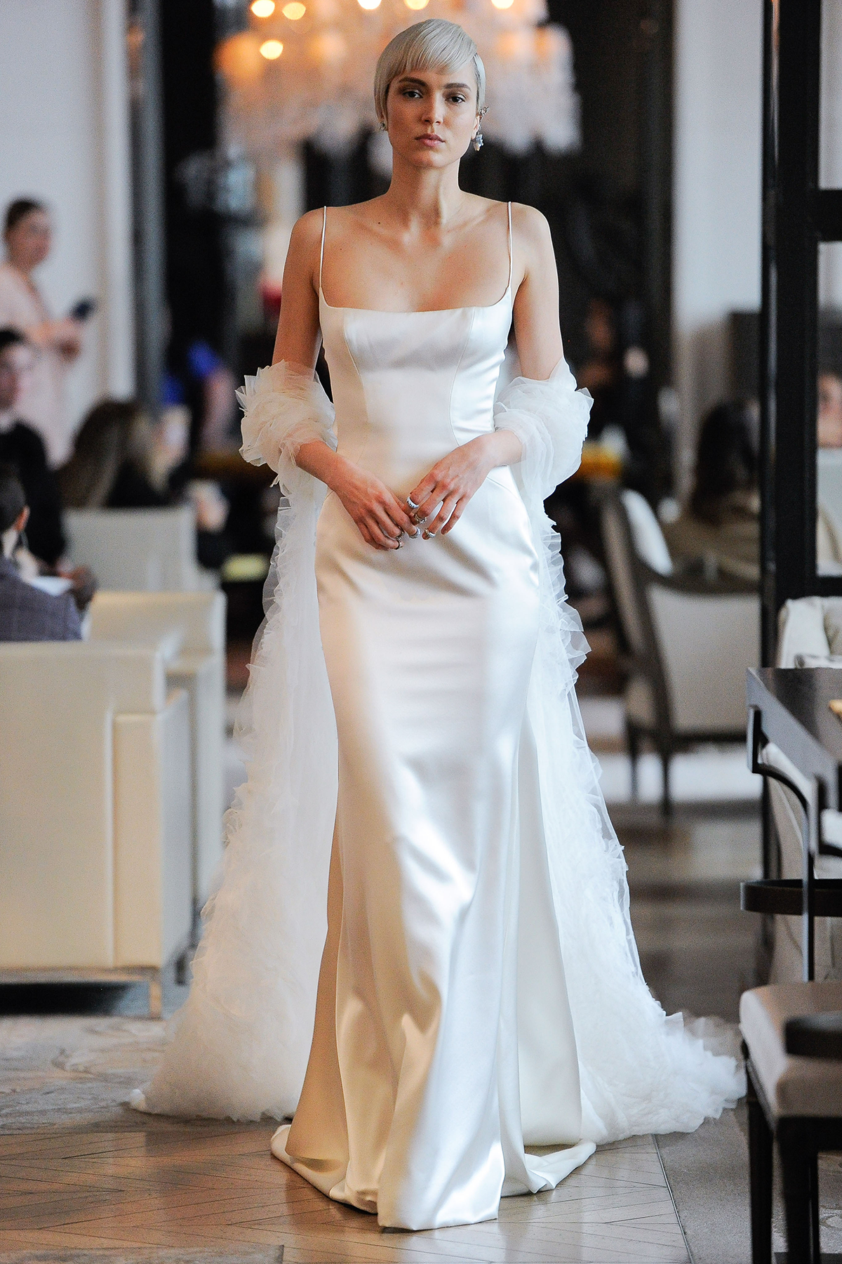 Robin gown by Ines di Santo.  Photo courtesy of First View.