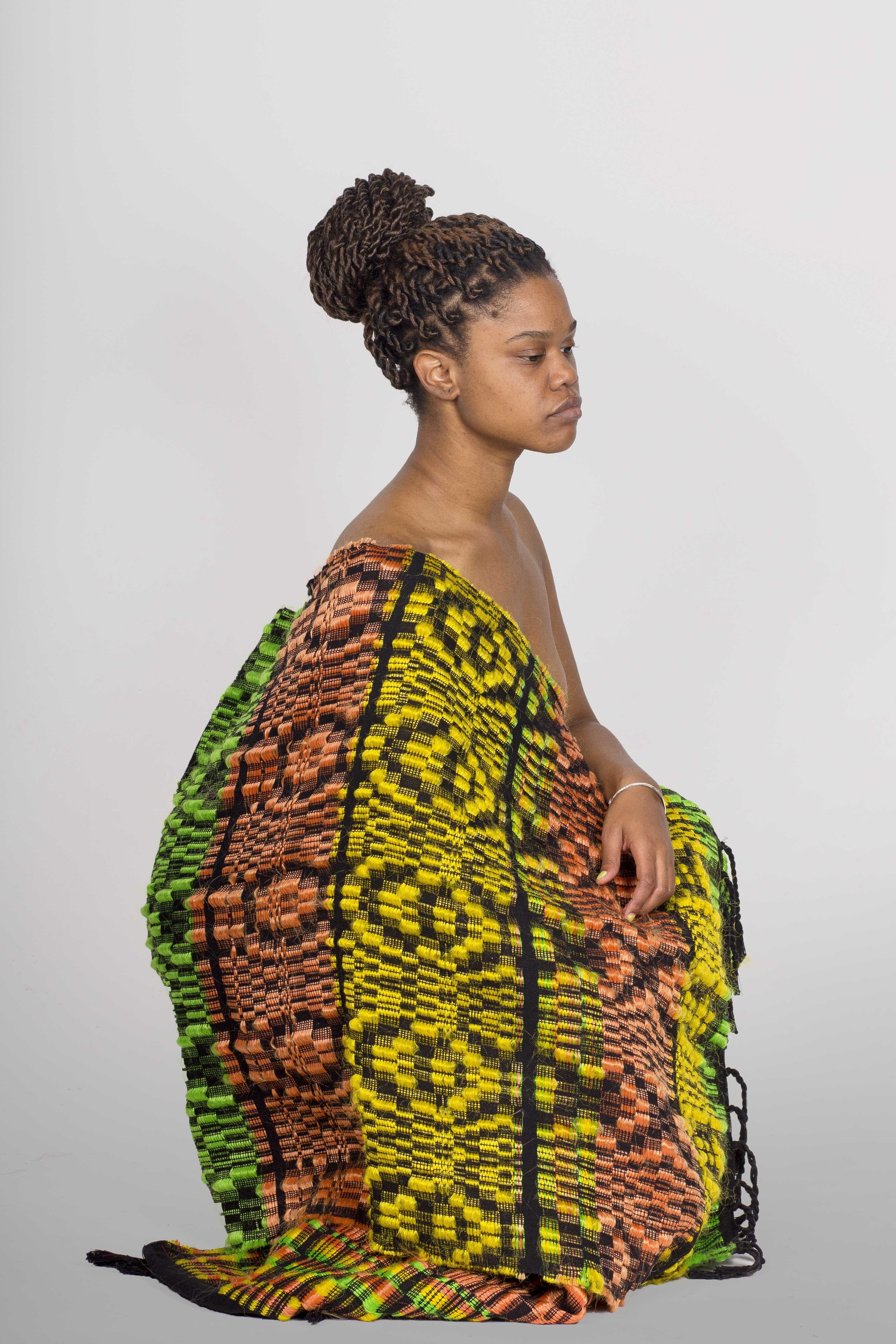Cocoon  2012, Cotton & synthetic-hair, Photographer: Patricia Bordallo Dibildox