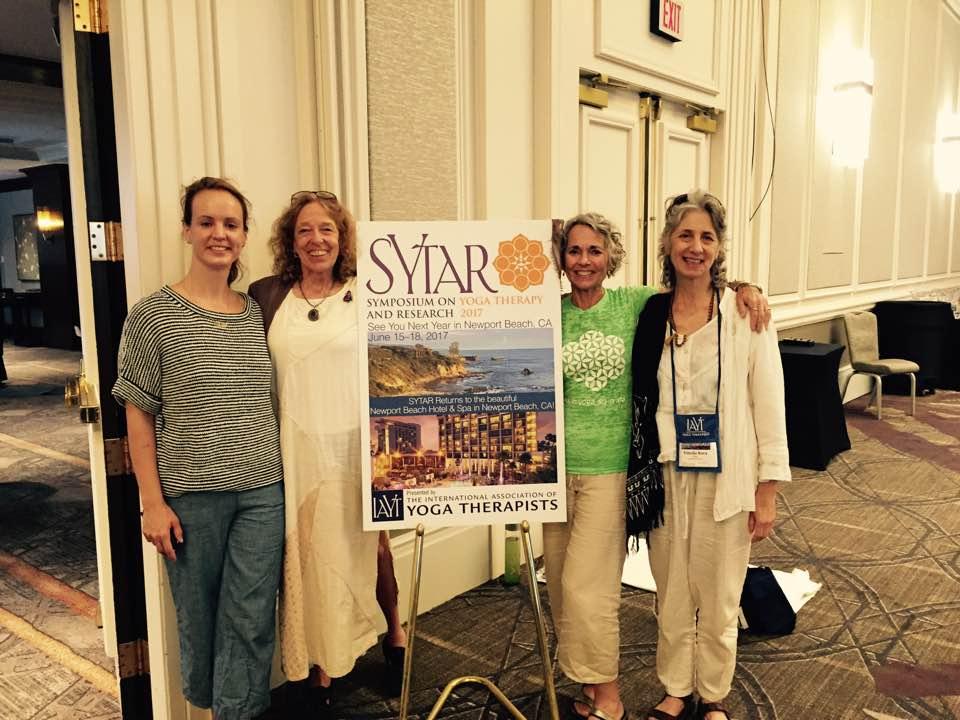 Stella, Jnani, Devi and Vimala: YCat represented at SYTAR, June 2017