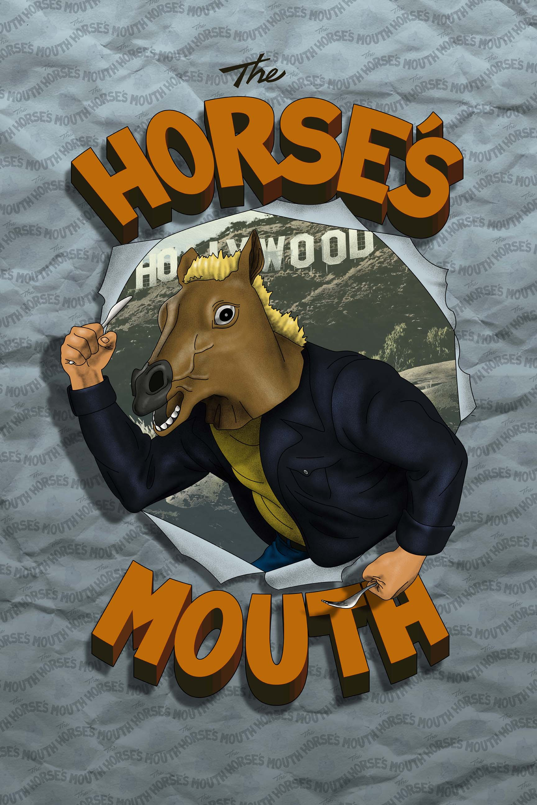 "THE HORSE'S MOUTH - OUT NOW - Fledgling food critic, Mike Postalakis, is writing a book about the Los Angeles food scene, and why he's at it he is filming his own food show. The problem is, Mike thinks he needs to wear a horse mask to hide his identity from the people serving him food. The Horse's Mouth is a show with in a show and a show about a show. Mike's girlfriend Eloise becomes dissatisfied with Mike selfishness and obsession over his show. While Mike goes further down the rabbit-hole, and even begins seeing an unknown man in an elephant's mask, he doesn't even notice Eloise drifting away.* * *Written & Created By Mike Postalakis & James GreerDirected By Djay Brawner & Mike PostalakisProduced By Gabriel Younes, May Iosotaluno, DJay Brawner, Mike Postalakis, and Nicole SwedlowOriginal Score By Mark YaegerExecutive Producer DJay BrawnerDirector of Photography Kyle FallonEdited By Chris ""Fleck"" Hernandez* * *"