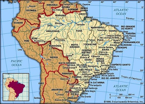 Brazil - Mission Resources International is following the Lord's lead in reaching out to the many lost groups in Brazil.
