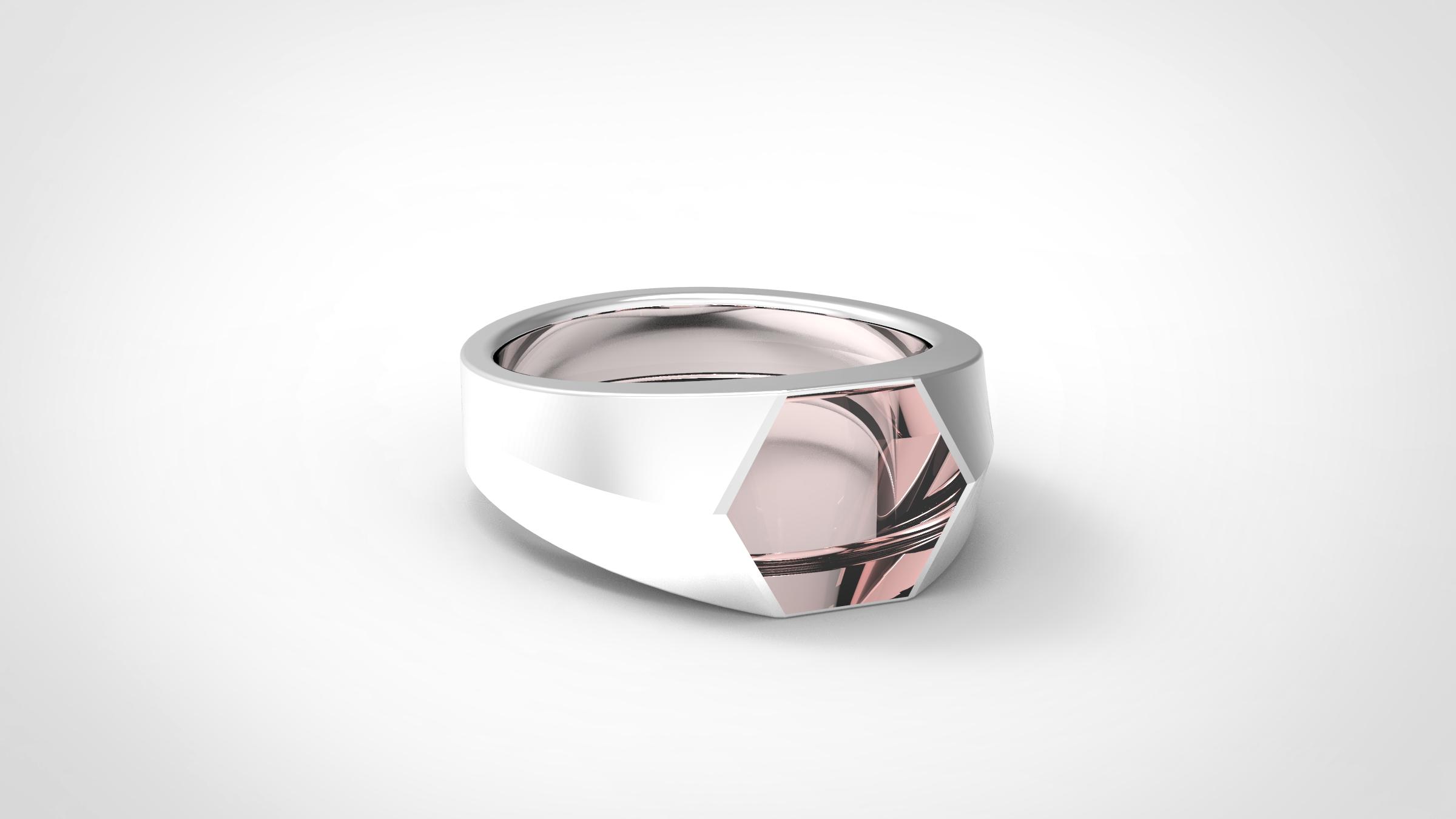 POLYGON RING   Jewelry Design