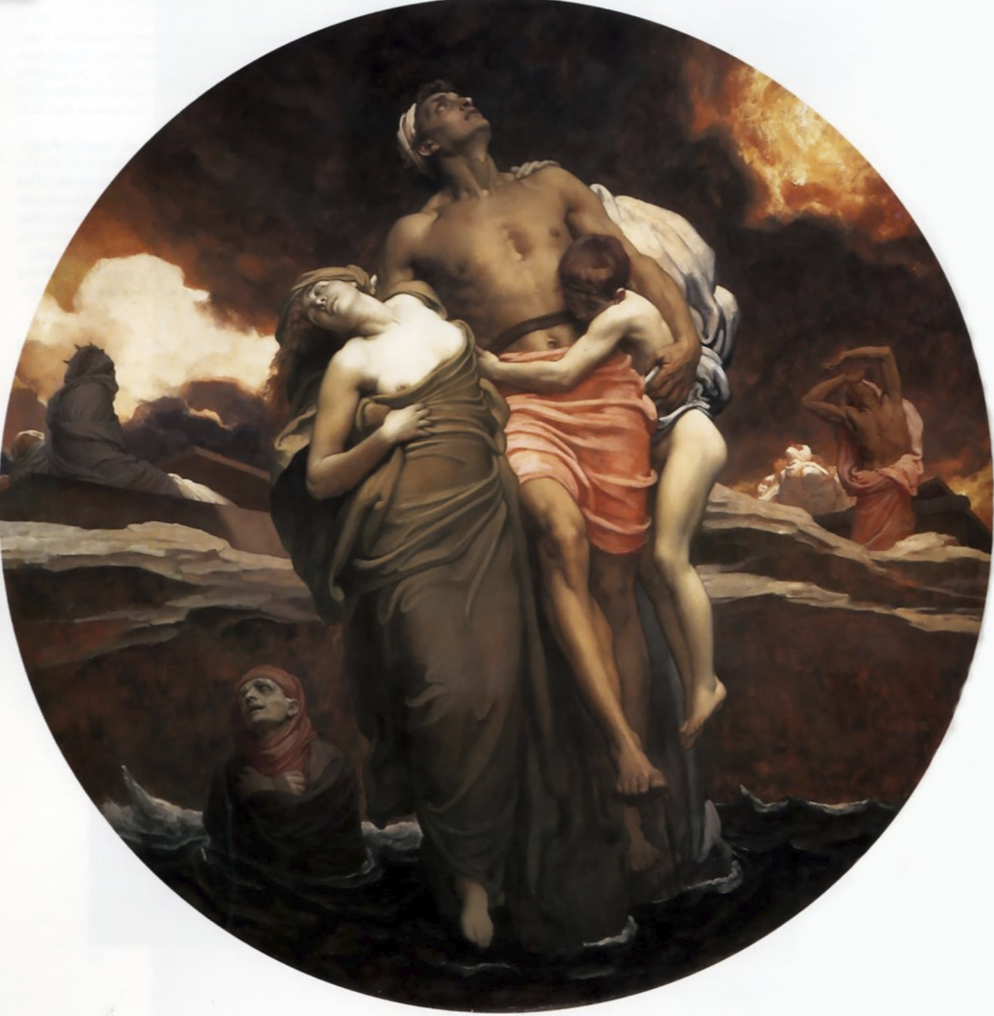 Lord Leighton 'And the sea gave up its dead'.png
