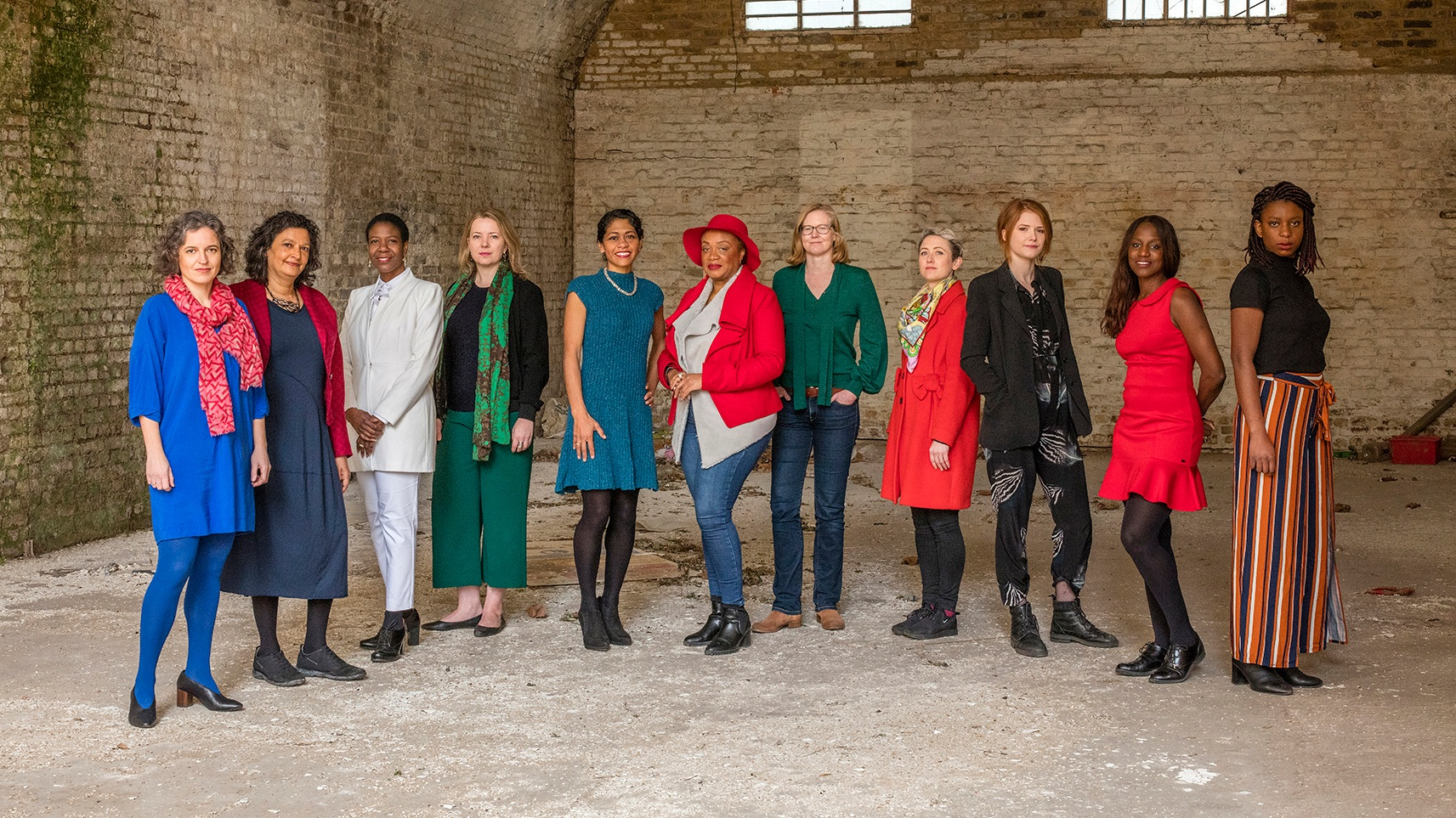 "Our group photo is courtesy of ""The Image of Women in Construction"" project by photographer @morelyvon in collaboration with @nawicLDN. This project aims to engage the next generation by showcasing the diversity of women working in the industry and the roles they perform."