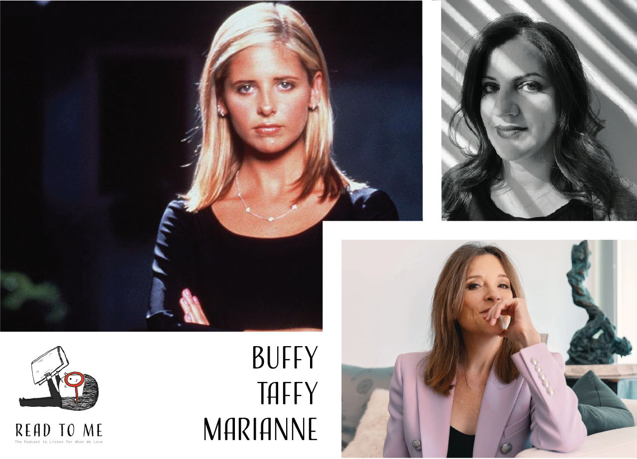"""Watch   the monologue   from Season 7 Episode 10 of Buffy the Vampire Slayer, """"Bring on the Night."""" (And watch seasons 2, 4, 6, and the rest of 7 for context. Have fun!)  Read   Taffy Brodessor-Akner's profile of Marianne Williamson  . (It's masterful.)"""