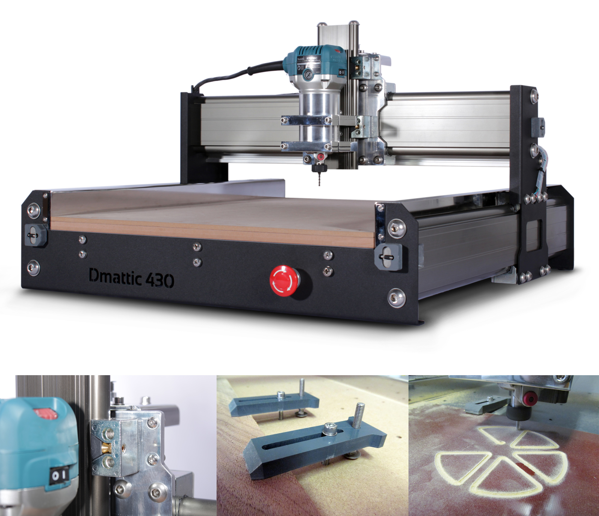 DMATTIC 430  - DESKTOP CNC ROUTER