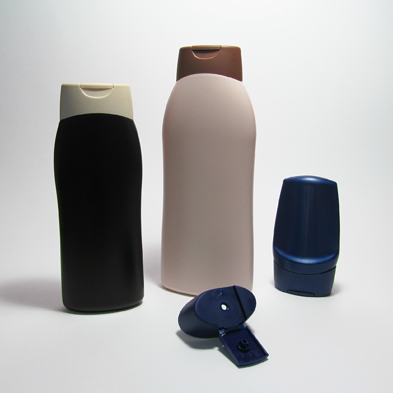 Evotec  wholesale bottles and flip top cap.