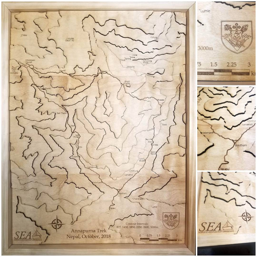 Himalayan Mountain Expedition - Trail Map