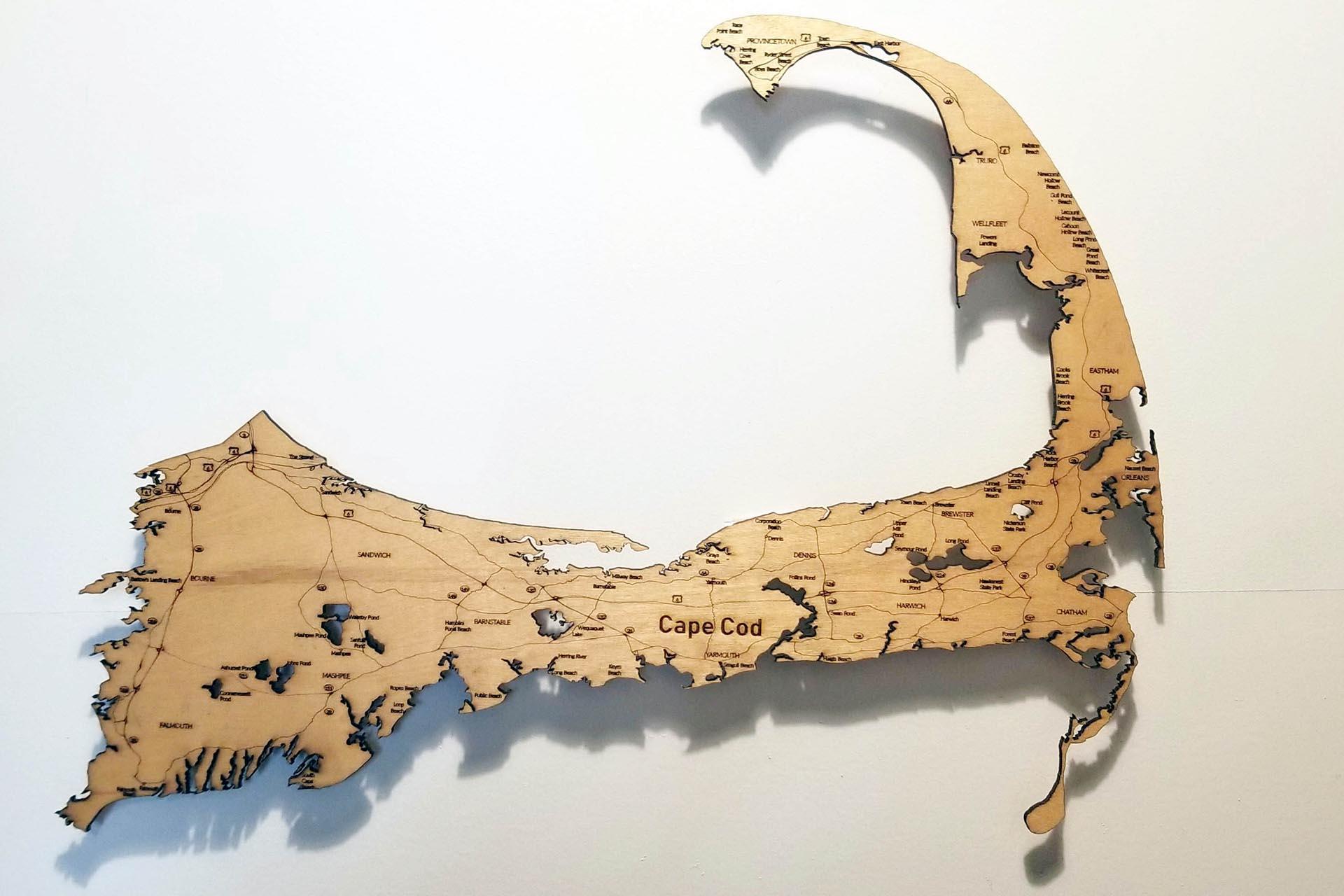 Cape Cod - Custom Floating Map
