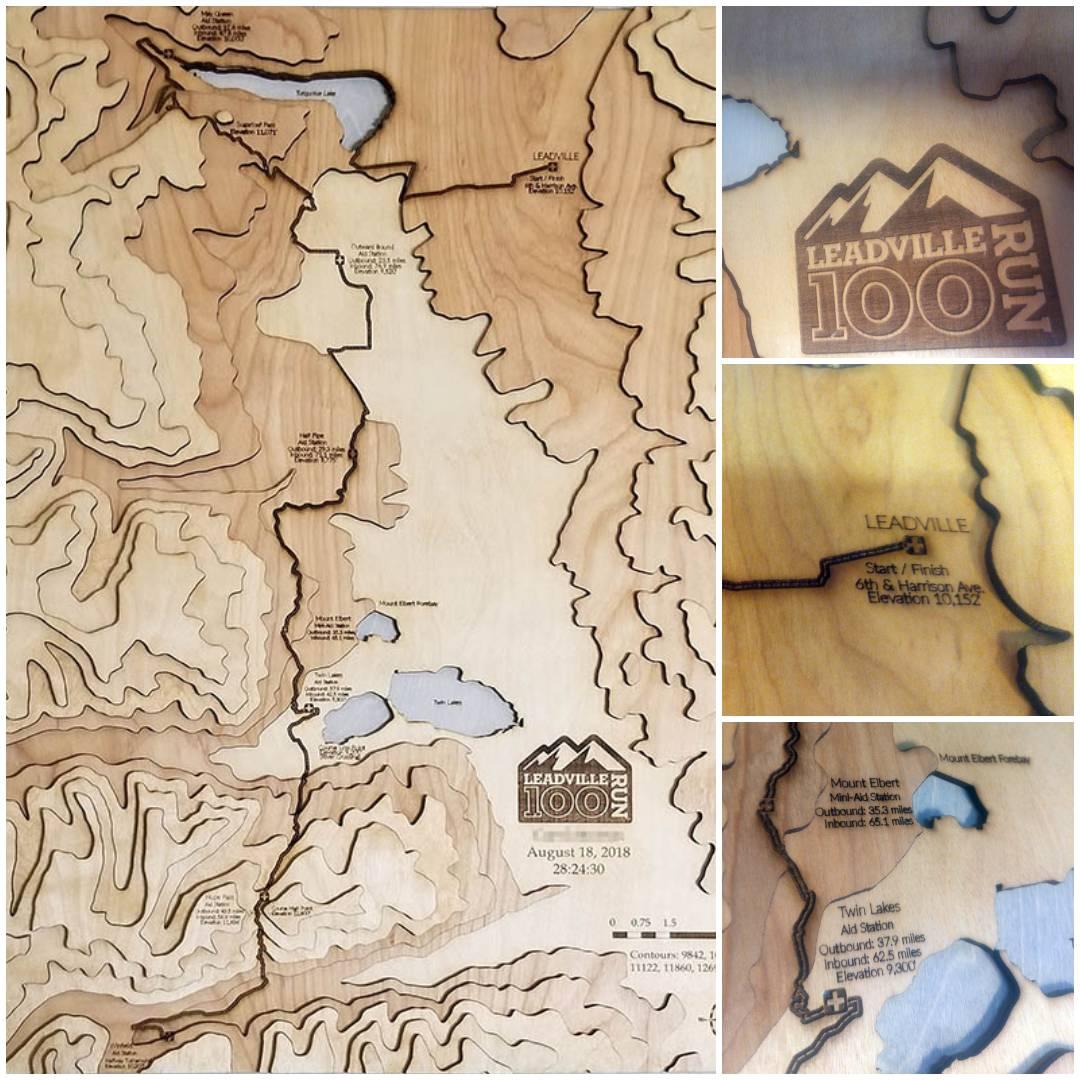 Racing Trail Map