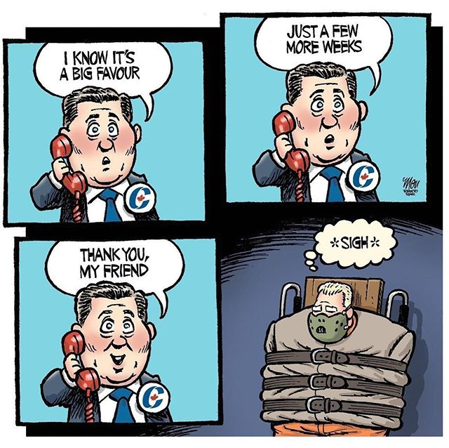 tbh it's been nice not having to think too much about #dougford the past few months, but let's not forget that this doofus has been ruining #Ontario for the last year. A Scheer Government will only make matters in Ontario even worse than they already are. #cdnelxn #elxn43