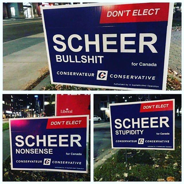 That's the spirit! #elxn43 #canada #vote