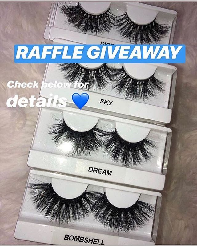 🎉 Raffle giveaway 🎉  First place: 3 pairs of lashes + a $20 gift voucher Second place: 2 pairs of lashes + a $10 gift voucher Third place: 1 pair of lashes + a lash brush. Here is how to enter: Every order placed from now until the giveaway is over will receive 1-3 raffle tickets. 🎫 Orders up to $24 will receive 1 ticket, orders $25-49 will receive 2 tickets, and orders $50+ will receive 3 tickets. Hold on to your ticket! The winning tickets will be announced on our Instagram Story. The giveaway will end once all winners have been contacted.