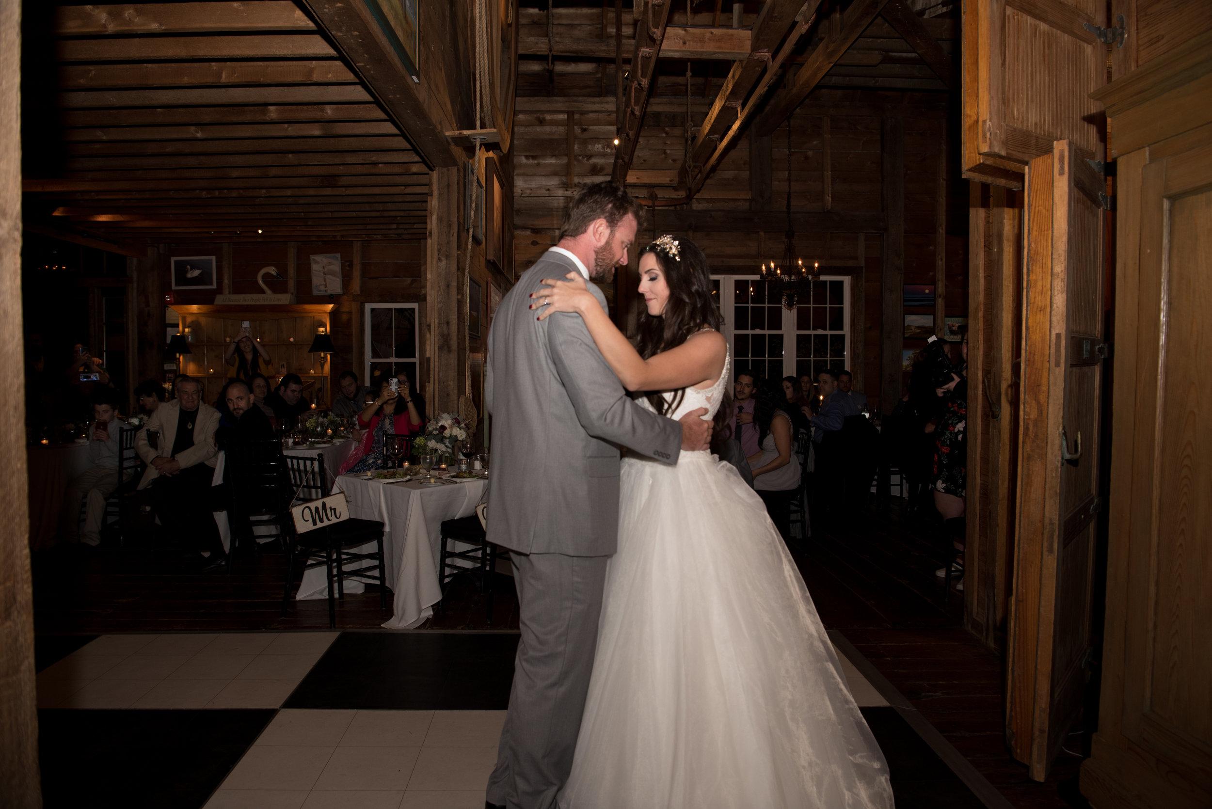 Cape Cod Wedding Reception