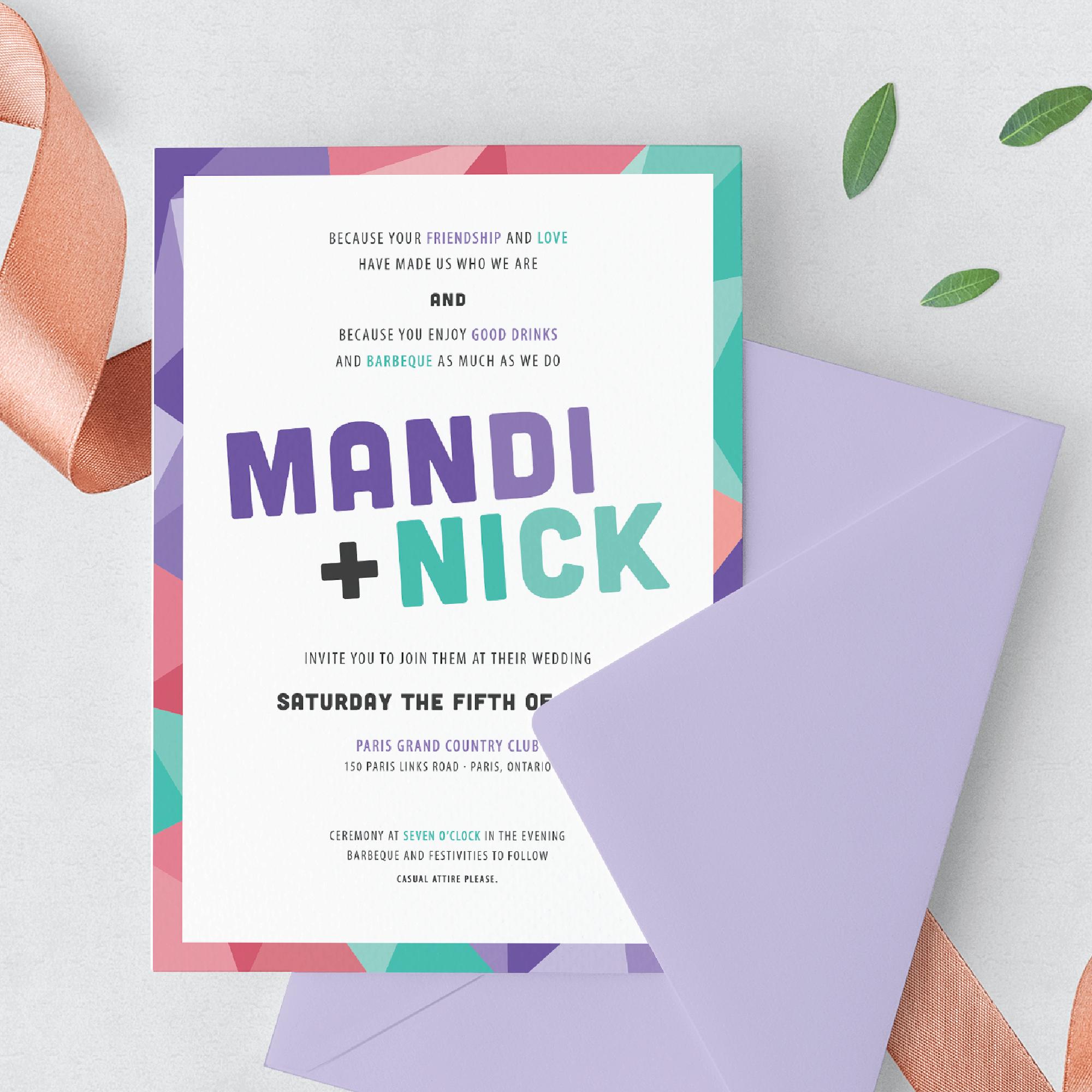 Mandi + Nick  Wedding