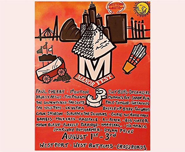 We play Manor West 3 at Hickory Union Moto on 8/2! Get your 3-day passes here: manorrecords.com