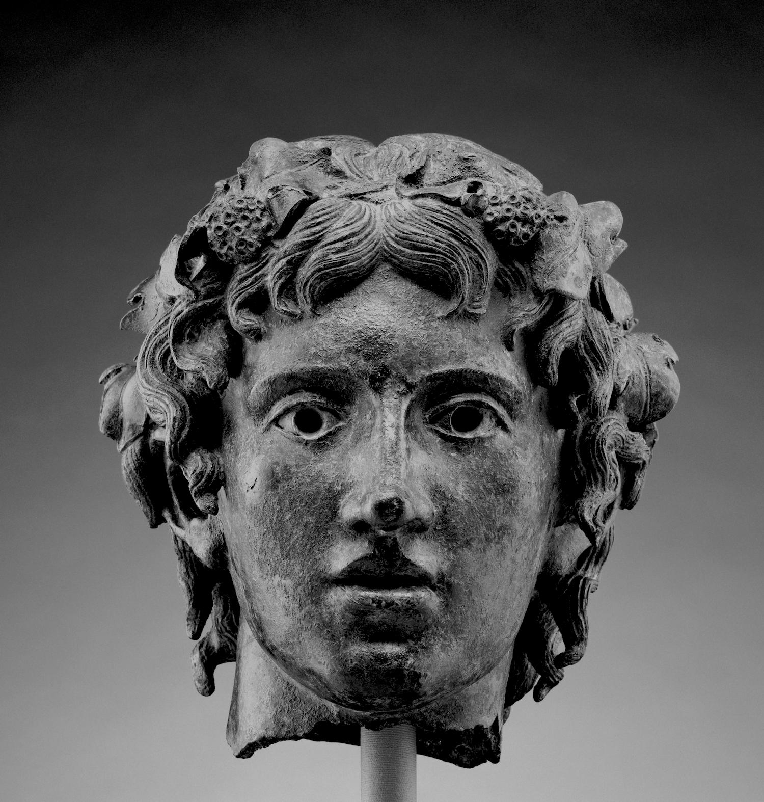 Head of Young Bacchus. Getty Villa. Public Domain.