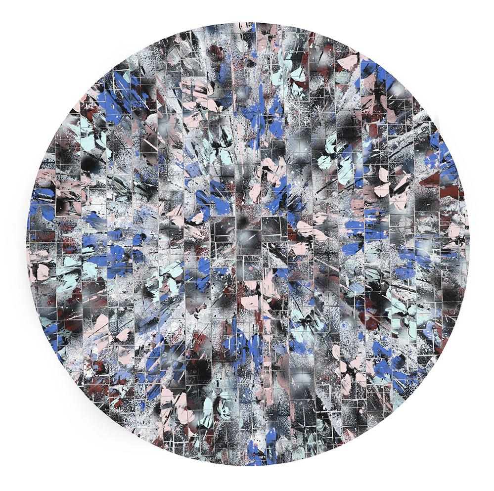 Black & Pink Explosion, Mosaic Series